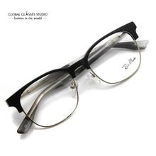Tasarımcı ilham moda gri Metal serin gözlük gözlük çerçeveleri gözlük G71