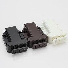 10 шт. 56*40*16 мм Черный цвет ABS Пластик магнитный сенсорный шарик супер всасывания Упругой Beetle Стиль KF521