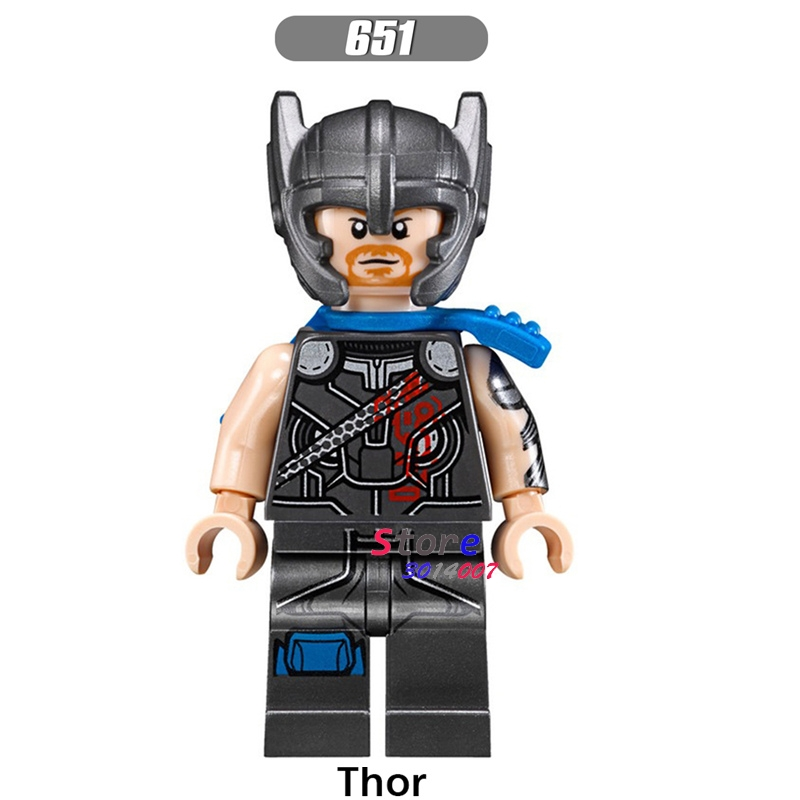 Single star wars super heroes Marvel comics Thor Ragnarok series 76088 building blocks models bricks toys for children kits single sale series 10 71018 rocket boy super heroes star wars assemble building blocks minifig kid gifts toys