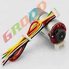 Encoder 25GA speed gear motor 6 12V 165 350RPM with encoder power car accessories electric motor