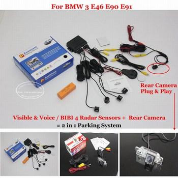 Для BMW 3 E46 E90 E91 датчик парковки сенсоры авто система сигнализации высокое качество камера заднего вида