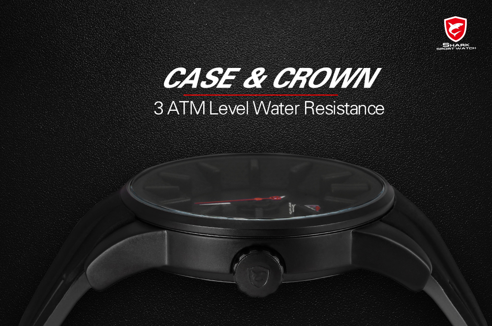 a6cca6e13ff Relógio Do Esporte Tubarão de Recife cinza Preto 3D Especial Designer Top  Marca de Luxo Data Banda de Silicone À Prova D  Água de Quartzo Relógios  Dos ...