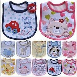 Baby bibs cute cartoon pattern toddler baby waterproof saliva towel cotton fit 0 3 years old.jpg 250x250