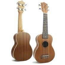 Купить 21 дюймов Uicker в Vuk Лили Гавайи четыре строки небольшая гитара Песок Билли школы образования музыкальный инструмент синтезаторы WJ-JX9