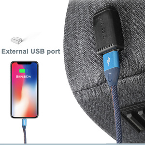 Image 3 - Tigernu 2020 새로운 고품질 방수 여행 배낭 남자 대용량 15.6 인치 노트북 Shockproof 패션 학교 배낭