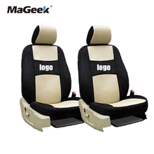 Universal car seat cover two front for mazda cx5 CX-7 CX-9 RX-8 Mazda3/5/6/8 March 6 May 2014 323 ATENZA accessories