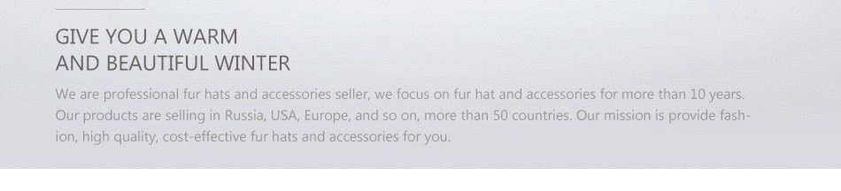 fur woman winter hats PCM012 (39)