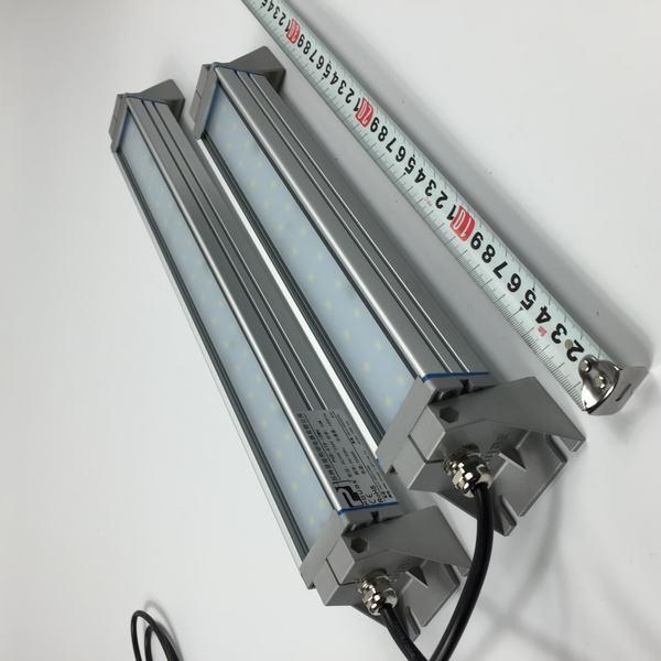 ФОТО 480mm LED Work Light Bar 18W Waterproof IP66 Rotation Emitting Lighting angle Machine 2000lm Full Aluminum Body Toughtened Glass