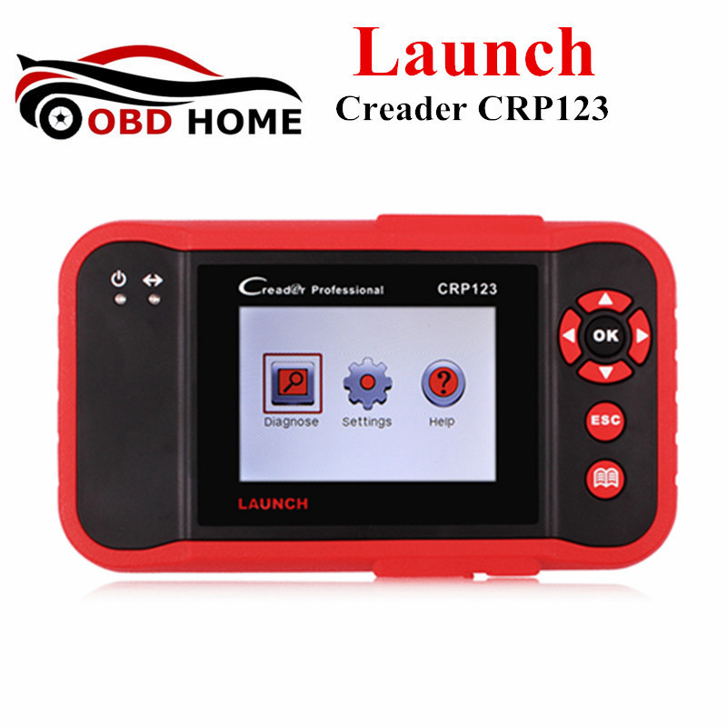 Launch Creader CRP123 Code Reader Launch CRP 123 For ABS SRS Transmission and Engine OBD2 OBDII Diagnostic Tool Update Online