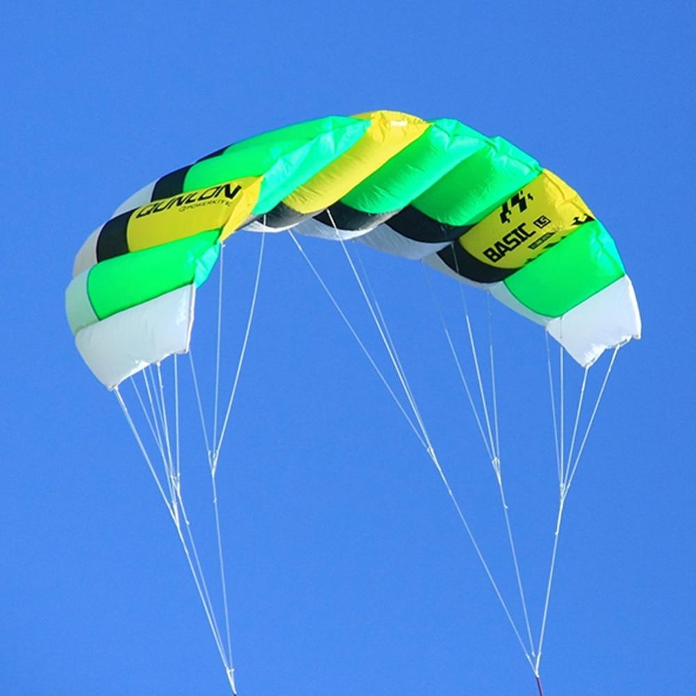 Dual Line Power Kite 0.6sqm გარე Sport Stunt Kite - გარე გართობა და სპორტი - ფოტო 3