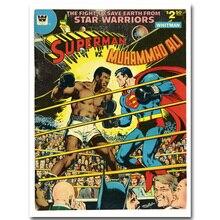 Muhammad Ali vs Superman Superheroes Poster (4 Sizes)