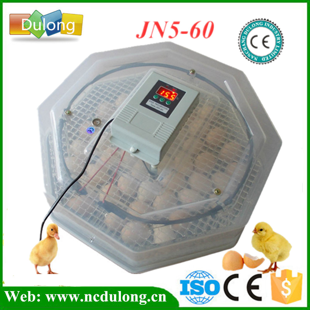 High Quality Mini 60 Eggs Incubator 110V / 220V Egg Incubator Chicken Duck Poultry Incubation Machine high quality holding 60 chicken eggs manual jn2 60 mini egg incubator high hatching rate