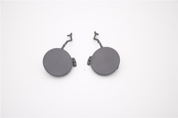 1Pair Rear Left + Right Bumper Tow Hook Eye Cover Cap For Porsche Cayenne 2011-2013