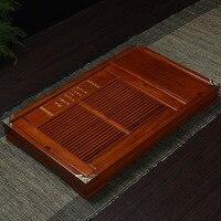 54*34*5cm Ke wood solid tea tray Kung Fu tea set tea water storage dual use tea ceremony factory wholesale