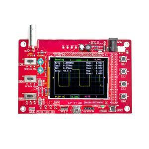 """Image 5 - Volledig Geassembleerd DSO FNIRSI 138 Open Bron 2.4 """"TFT Digitale Oscilloscoop (1 Msps) met GRATIS Probe"""