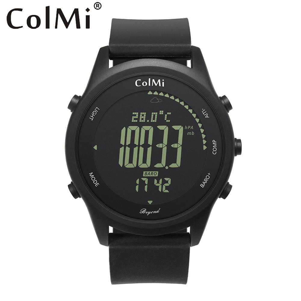 ColMi Smart Watch Beyond IP68 5 ATM Waterproof Pressure Temperature Altitude Compass Man Outdoor Smartwatch
