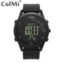 ColMi Smart Uhr Über IP68 5 ATM Wasserdicht Druck Temperatur Höhe Kompass Mann Outdoor Smartwatch