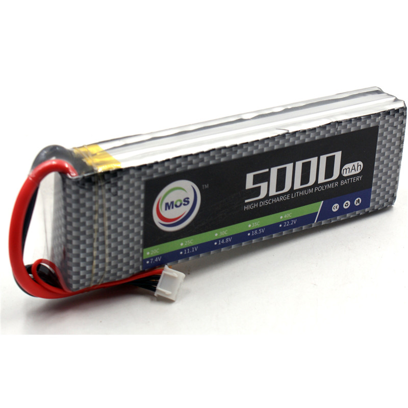 MOS 11.1v 5000mah 30c 3s RC LiPo Battery for RC Airplane Helicopter Drone Car Rechargeable batteries Free Shipping насос wester wcp 25 40g 130mm