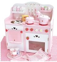 Бесплатная доставка Япония Клубника Большой игрушки для игрушечной кухни детские развивающие деревянные игрушки играть дома Рождественск