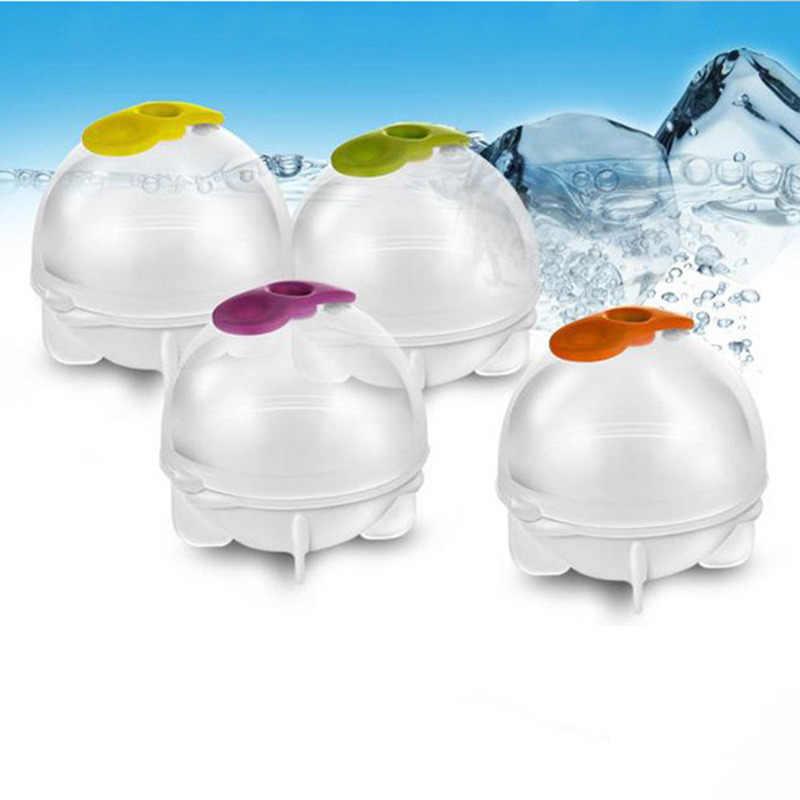 1/2 pc פלסטיק קרח קרם כדורי ביצוע תבניות גלידת יצרנית בר לשתות ויסקי כדור גדול עגול כדור קרח לבנים הכנת קוביית מגש