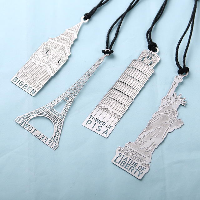 Creative Metal Bookmark