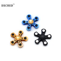 ABS Five Angle Gyro Hand Spinner Fingertip Gyroscope