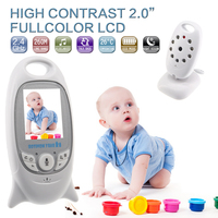 Wireless Video Color Baby Monitor Electronic Baby Security Camera 2 Talk Sleeping Nigh Vision LED Temperature Baby Monitors