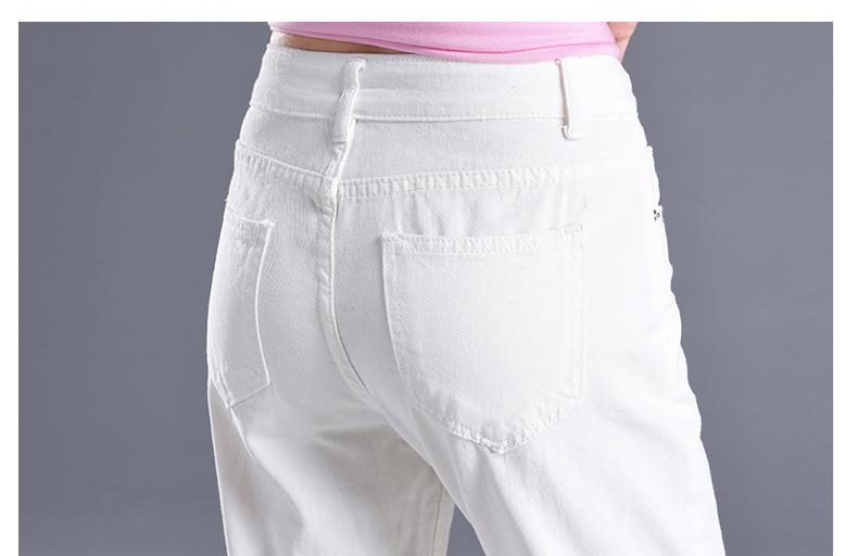 HTB1IxaYSpXXXXXBaFXXq6xXFXXXr - Women High Waist Jeans Ripped Solid JKP127