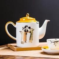 Ceramic teapots coffee pots teapots single pots household gifts