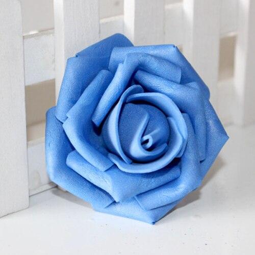PHFU en gros 10 pièces 100 pièces mousse Rose fleur bourgeon décorations de fête de mariage fleur artificielle bricolage
