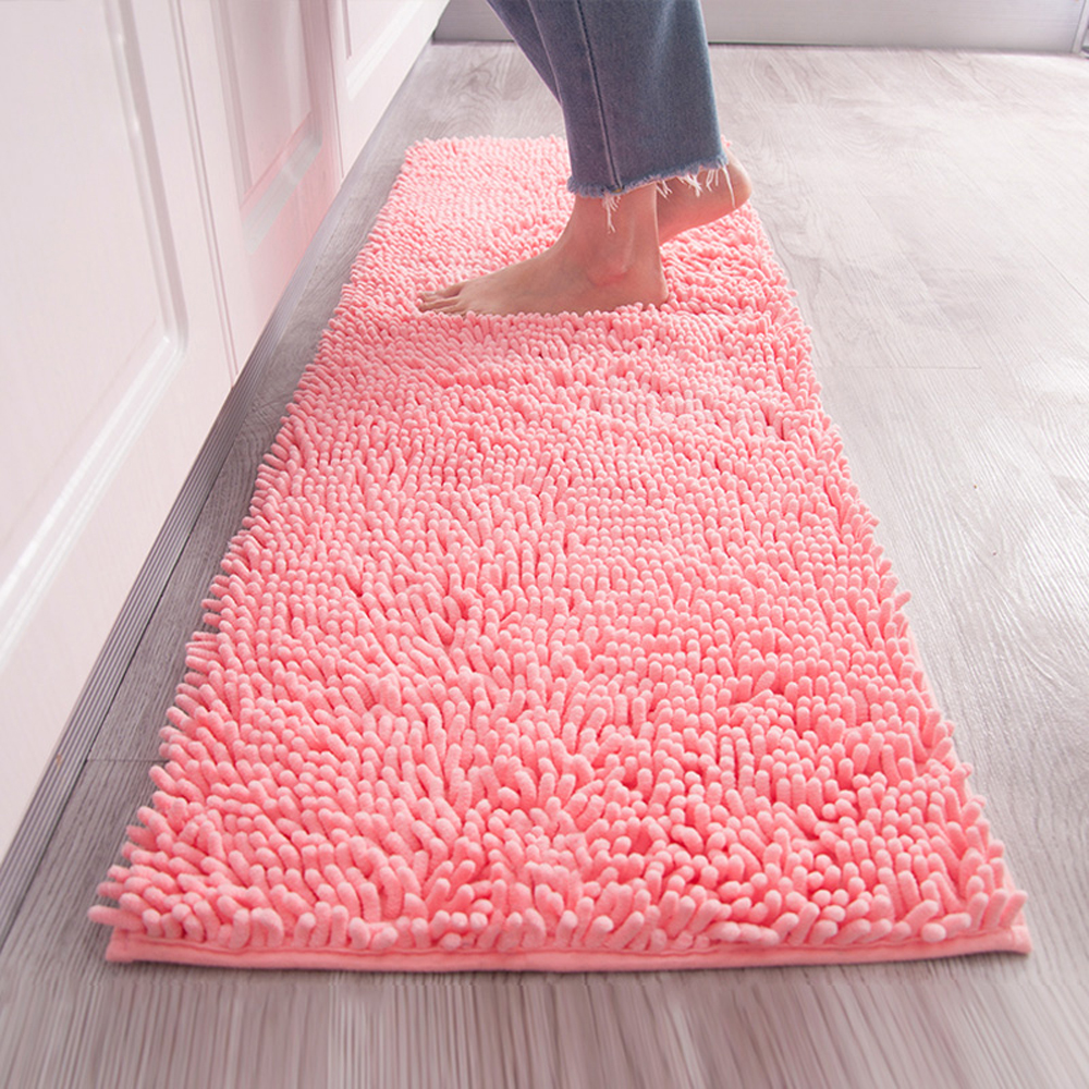 2 pcs sets strong absorbent non slip kitchen rug and for Home decorators chenille rug