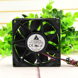 Image 3 - Delta FFB0812EH 8CM 80MM 8025 80*80*25MM 12V 0.80A şiddetli rüzgar kapasitesi 4 telli fan PWM desteği