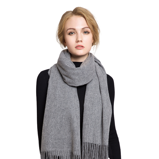Genuine Pashmina – 2017 Spring Winter Warm Luxury Brand Cashmere Wool Scarf