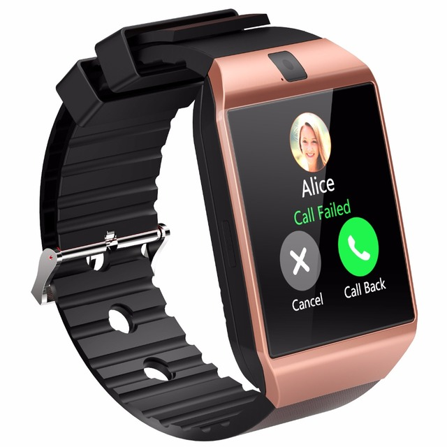 Built-In Camera Phone Call Reminder Smart Watch