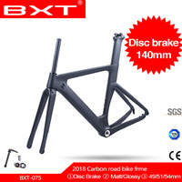 Free shipping NEW T800 Carbon Disc Brake road frame 1 1/2 tapered racing bike carbon road frame+road bike fork+seatpost+headset