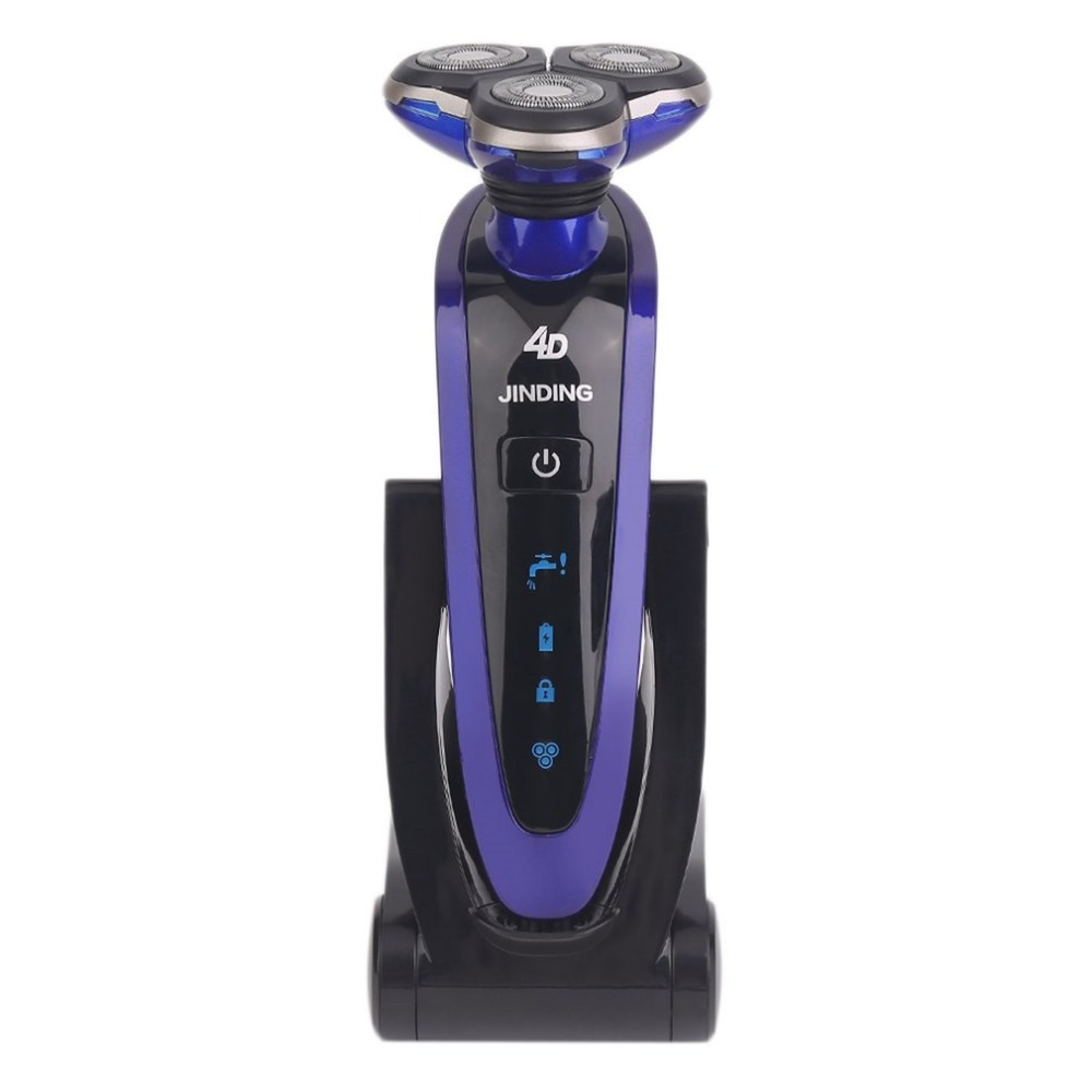 3 in 1 Washable Rechargeable Electric Razor 3D Floating Triple Blade Electric Shaving Razors Men Face Care Kemei Electric shaver