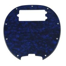 Bass Pickguard MusicMan Stingray MM4 Scratch plate for Music Man MM2 4 String Guitar Parts   Blue Pearl
