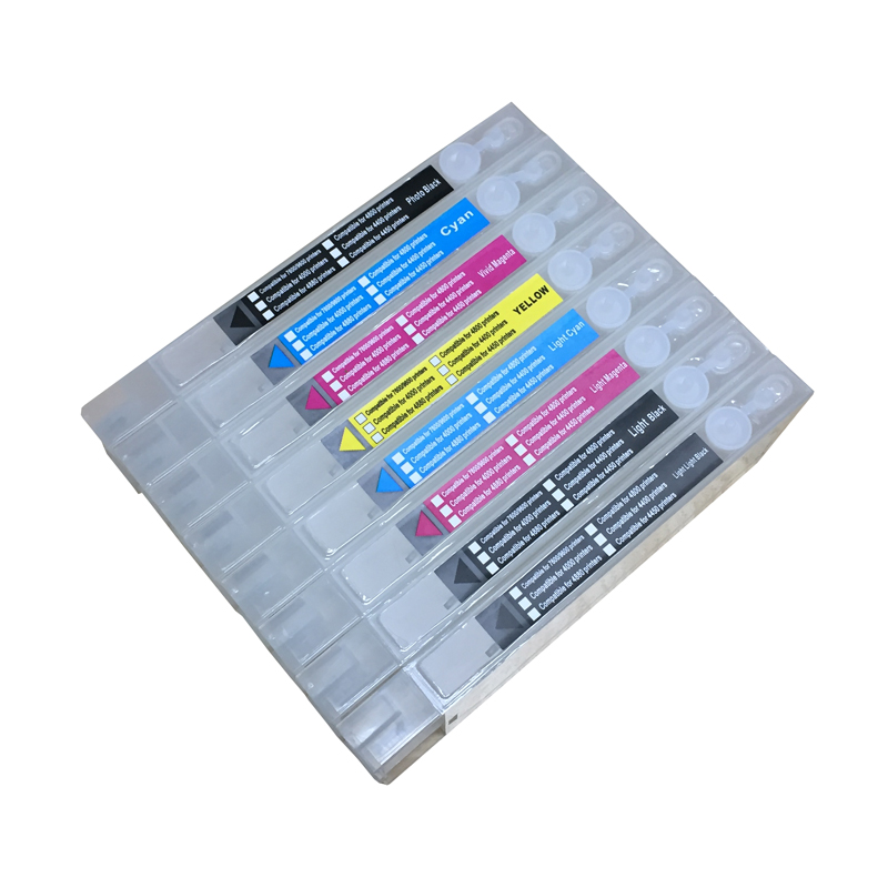 4880 refillable cartridge Cheap print cartridges for Epson stylus pro 4880 with chips and chip resetter on high quality 4800 refillable cartridge printer cartridge for epson stylus pro 4800 printer t5651 with chips and chip resetter on high quality