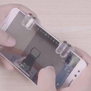 Image 5 - Schieten Controller Pubg Mobiele L1 R1 Celular Telefoon Joystick Gaming Dzhostiki Voor Telefoon Trigger Game L1R1 Knop Gamepad Metalen