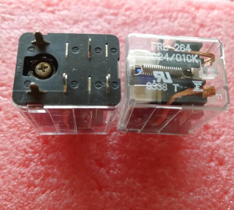 NEW relay FRL-264 D024/01CK 24VDCFRL-264 D024-01CK 24VDC DC24V 24V 6PIN new cad50bdc dc24v tesys d series contactor control relay 5no 0nc