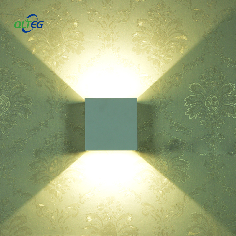 QLTEG Outdoor Waterproof IP65 Wall Lamp dimmable LED Wall Light Indoor Sconce Decorative lighting Porch Garden Lights Wall Lamps outdoor waterproof ip65 wall lamp modern led wall light indoor sconce decorative lighting porch garden lights wall lamps