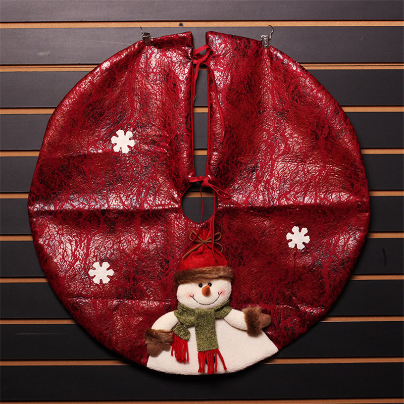60cm Artificial Cloth Craft Christmas Tree Skirt Home Market Hotel Outdoor Ornaments Decorations MFD38 In Skirts From