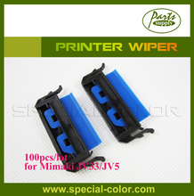 100 unidades/pacote Mimaki JV33/JV5 Wiper Printer com Stent de Impressora DX5 Wipper Azul Kit De Borracha