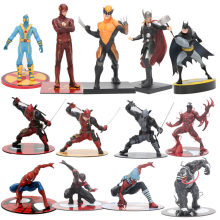 The Avengers figura toy The Amazing Spiderman Venom Carnificina Deadpool Wolverine Thor Figura Estátua ARTFX 1/10 Escala Brinquedos(China)
