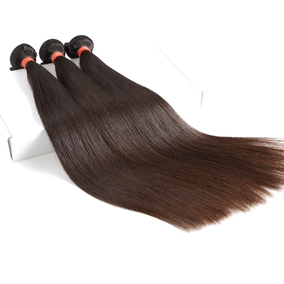 Luvin Peruvian Straight Virgin Hair 3 Bundles Lots 100 Human Hair Weave Bundles Natural Color No