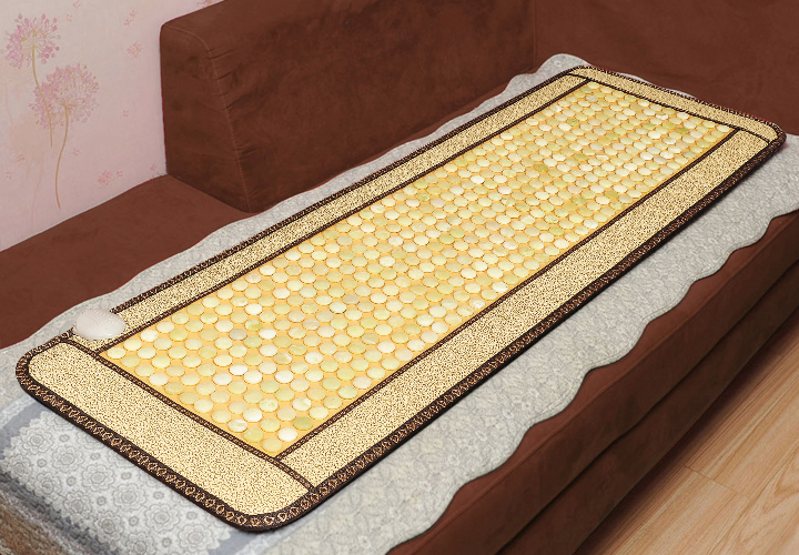 2016 Best Selling Korea Natural Jade heated mattress pad Tourmaline Germanium Electric Heating Physical Therapy Mat 50cmX150cm best selling korea natural jade heated cushion tourmaline health care germanium electric heating cushion physical therapy mat