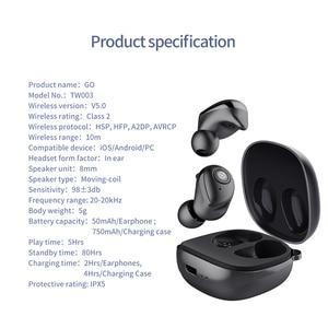 Image 5 - Aggiornamento Nillkin Auto Coppia TWS Auricolare Bluetooth 5.0 Vero Wireless IPX5 Stereo Chiamata in Vivavoce Custodia di Ricarica 750mAh Controllo Del Volume