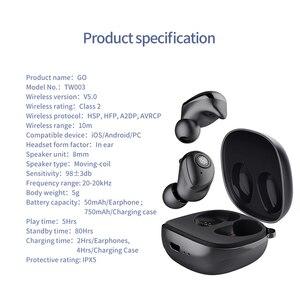 Image 5 - 更新 Nillkin 自動ペア TWS イヤホン Bluetooth 5.0 真のワイヤレス IPX5 ステレオハンズフリー通話充電ケース 750mAh ボリュームコントロール