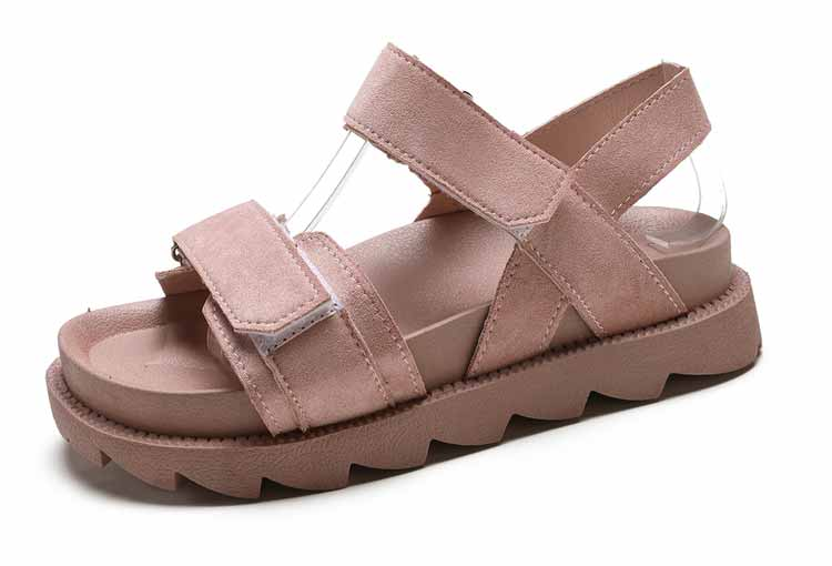 Women shoes adult solid sandals women 2019 fashion med heel height women sandals flat with casual shoes woman sandals female  (19)
