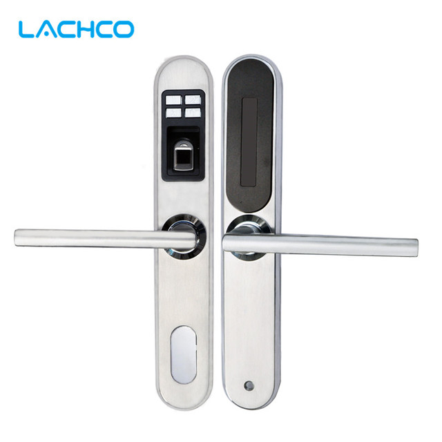 Keyless Door Entry >> Lachco Biometric Smart Electronic Fingerprint Keyless Door Lock